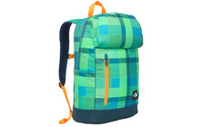 The North Face Singletasker krypton green plaid